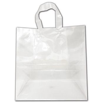 "Clear Transparent Bags, 12 x 6 x 12"""