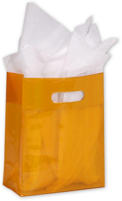 "Tangerine Jelly Bags, 8 x 4 x 10"""