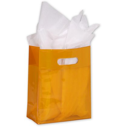 Tangerine Jelly Bags, 8 x 4 x 10