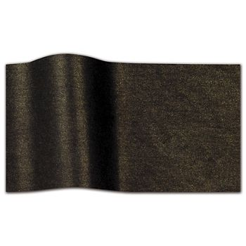 "Black Brass Pearlesence Tissue Paper, 20 x 30"""
