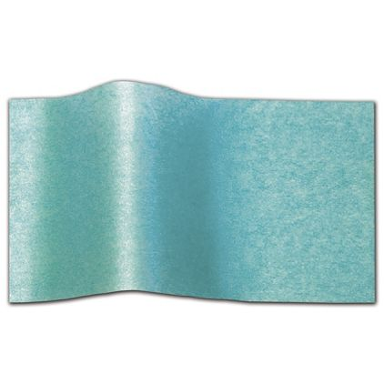 """Bright Turquoise Pearlesence Tissue Paper, 20 x 30"""""""