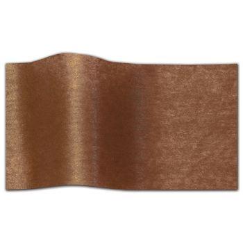 "Bronze Pearlesence Tissue Paper, 20 x 30"""