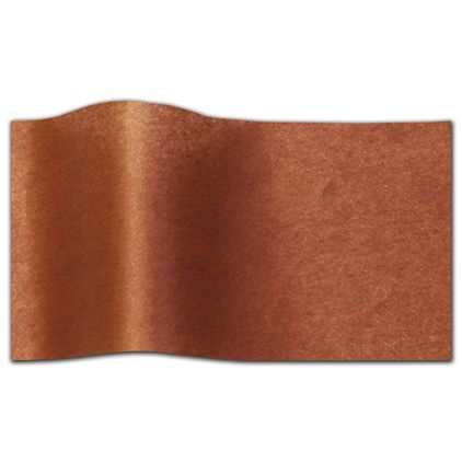 """Copper Pearlesence Tissue Paper, 20 x 30"""""""