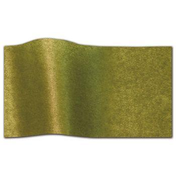 "Green Tea Pearlesence Tissue Paper, 20 x 30"""