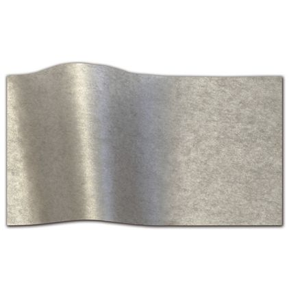 """Pewter Pearlesence Tissue Paper, 20 x 30"""""""