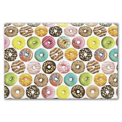 """Donuts Tissue Paper, 20 x 30"""""""