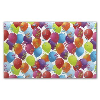 Balloon White Tissue Paper, 20 x 30