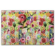 """Floral Collage Tissue Paper, 20 x 30"""""""