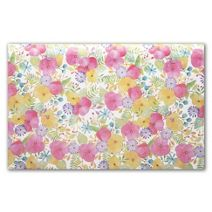"""Watercolor Petals Tissue Paper, 20 x 30"""""""