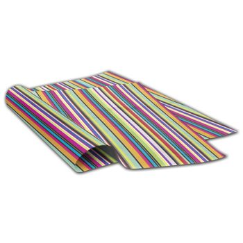 Hot Stripe Tissue Paper, 20 x 30""