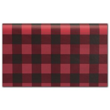 Buffalo Plaid Tissue Paper, 20 x 30