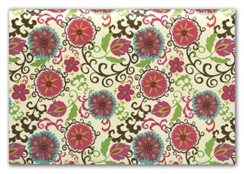 Happy Flower Tissue Paper, 20 x 30
