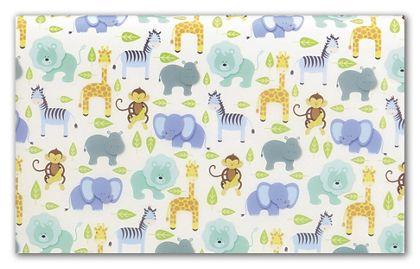 "Zoo Tissue Paper, 20 x 30"""
