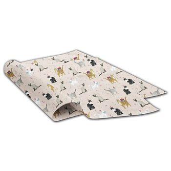Festive Felines Tissue Paper, 20 x 30