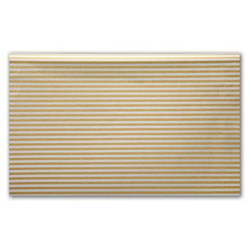 Silver and Gold Stripe Tissue Paper, 20 x 30
