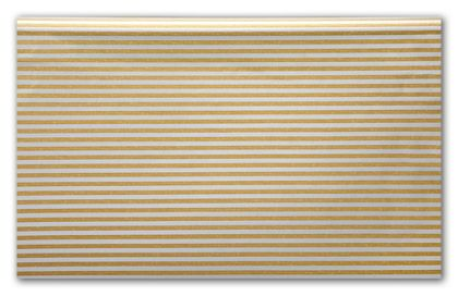 Silver and Gold Stripe Tissue Paper, 20 x 30""