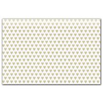 "Golden Hearts Tissue Paper, 20 x 30"""