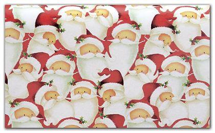 """Santa Tissue Paper, 20 x 30"""""""