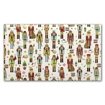 Traditional Nutcracker Tissue Paper, 20 x 30