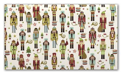 Traditional Nutcracker Tissue Paper, 20 x 30""