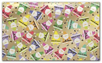 Rainbow Santa Tissue Paper, 20 x 30