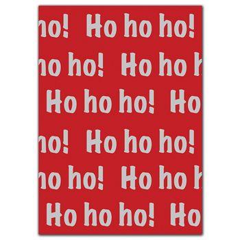 Ho Ho Ho Tissue Paper, 20 x 30