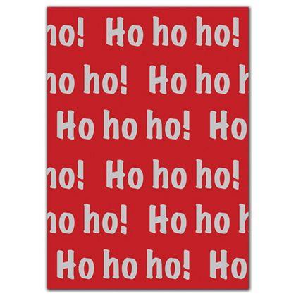 "Ho Ho Ho Tissue Paper, 20 x 30"""