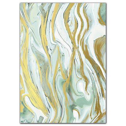 """Marbleized Mint Tissue Paper, 20 x 30"""""""