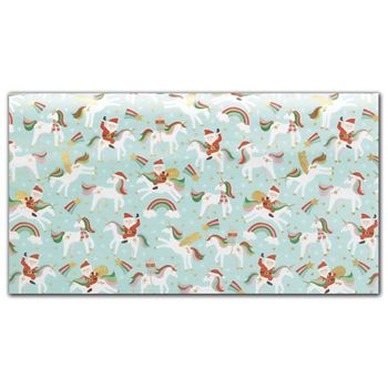 Merry Unicorns Tissue Paper, 20 x 30