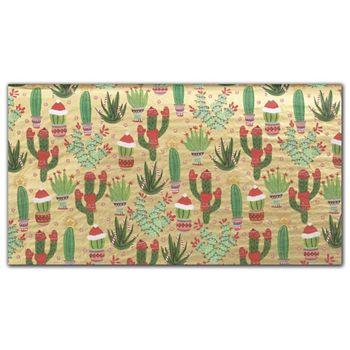 Christmas Cactus Tissue Paper, 20 x 30
