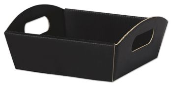 Black Presentation Tray Boxes, 8 1/4 x 7 1/2 x 2 1/2