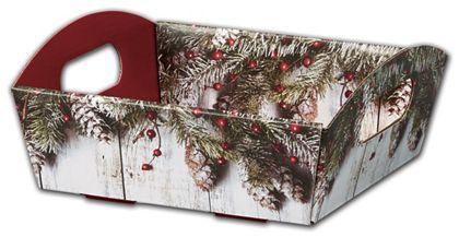 "Rustic Presentation Tray Boxes, 8 1/ 4 x 7 1/2 x 2 1/2"""