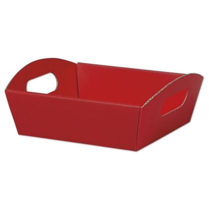 Red Presentation Tray Boxes, 8 1/4 x 7 1/2 x 2 1/2""