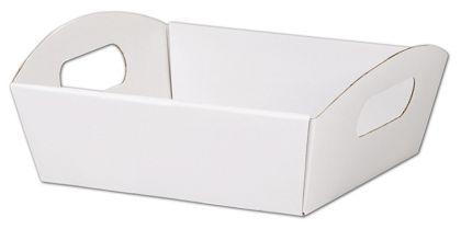 """White Presentation Tray Boxes, 8 1/4 x 7 1/2 x 2 1/2"""""""