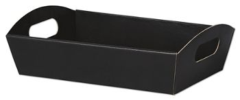 Black Presentation Tray Boxes, 11 1/4 x 7 1/2 x 2 1/2