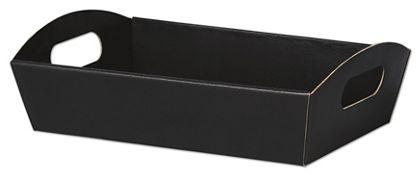 "Black Presentation Tray Boxes, 11 1/4 x 7 1/2 x 2 1/2"""