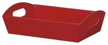 Red Presentation Tray Boxes, 11 1/4 x 7 1/2 x 2 1/2