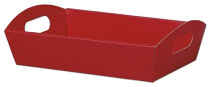 Red Presentation Tray Boxes, 11 1/4 x 7 1/2 x 2 1/2""