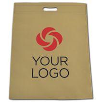 Printed Sand Non-Woven Tuff Seal Merchandise Bags