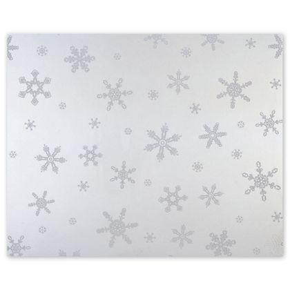 """Snowflakes Polypropylene Film Rolls, 30"""" x 100'"""