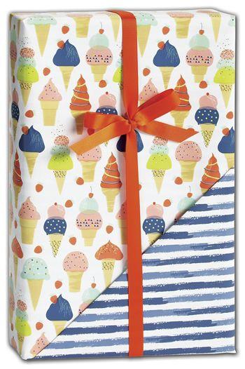 Sweet Celebration Reversible Gift Wrap, 24