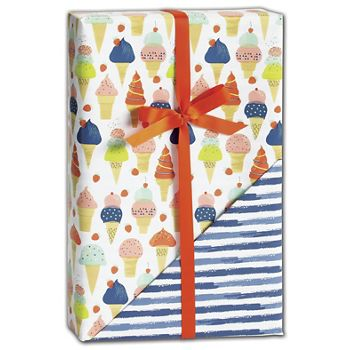 Sweet Celebration Reversible Gift Wrap, 24