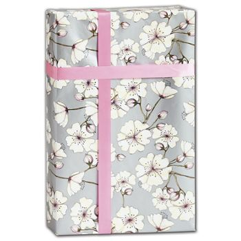 "Cherry Blossom Gift Wrap, 30"" x 417'"