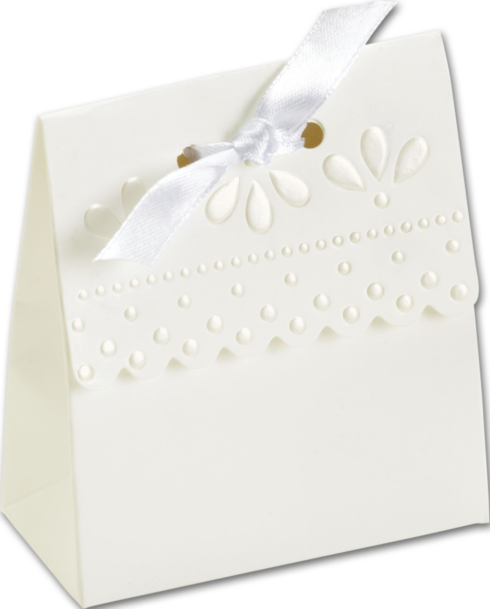 Favor Boxes | Scalloped | SCALL-9 by Bags and Bows