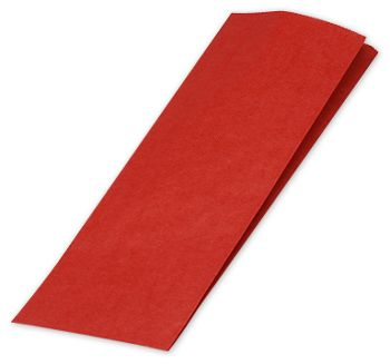 Really Red Merchandise Bags, 5 x 2 x 18