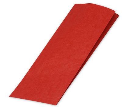 Really Red Merchandise Bags, 5 x 2 x 18""