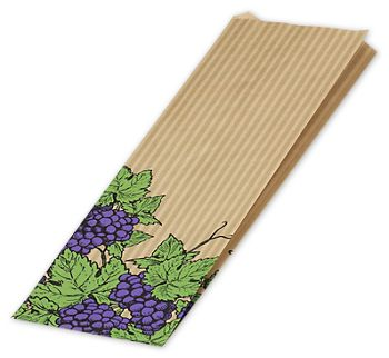 Grapes Merchandise Bags, 5 x 2 x 18