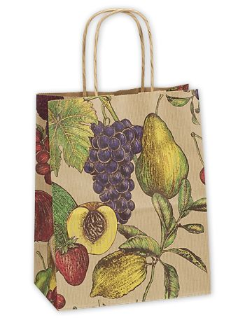 Fruit Bowl Small Shoppers, 8 x 4 3/4 x 10 1/2