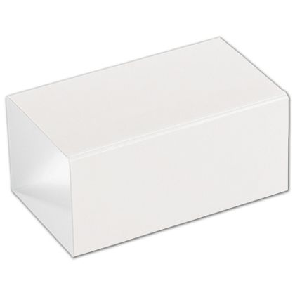 White 2-Truffle Confectionery Sleeves