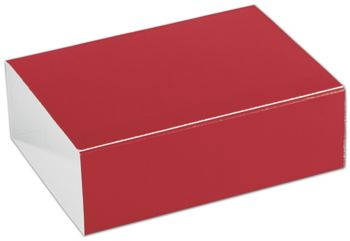 Red 6-Truffle Confectionery Sleeves
